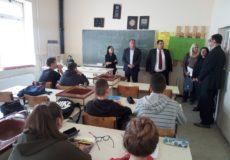 Министар Младен Шарчевић посетио Пољопривредно – ветеринарску школу
